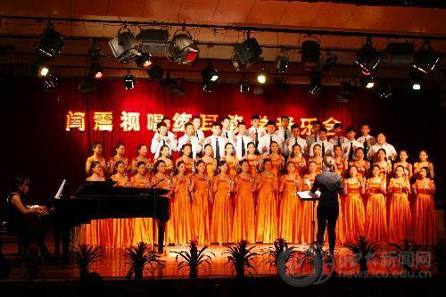 """音乐学院举办""""闫震视唱练耳教学音乐会"""""""