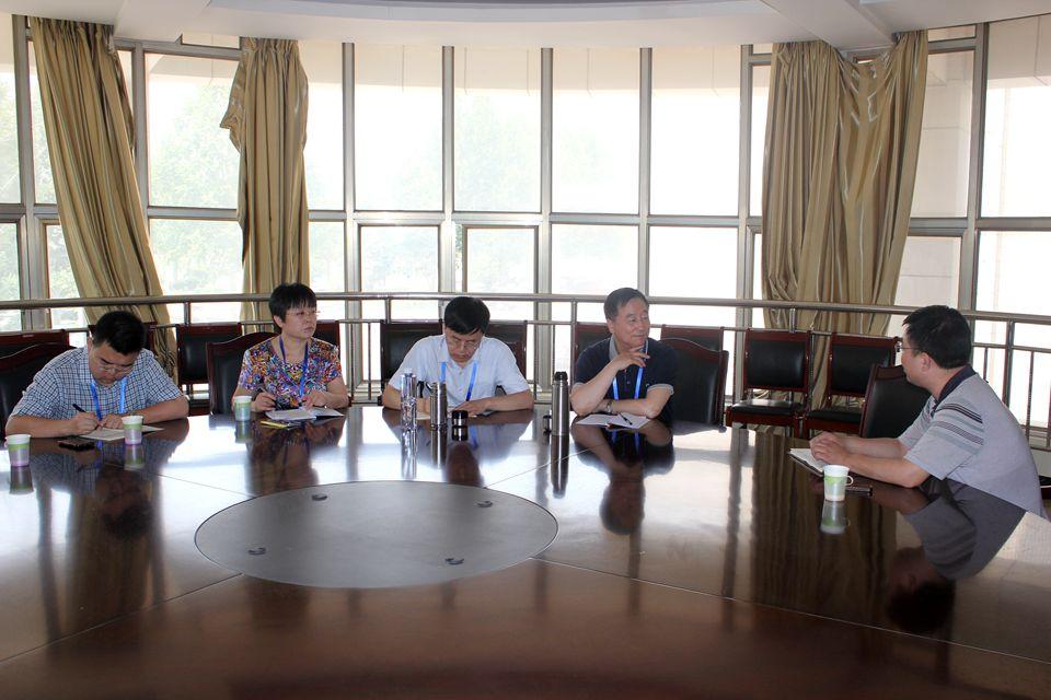 辽宁大学副校长马凤才,齐鲁工业大学教务处处长马万勇到教务处走访